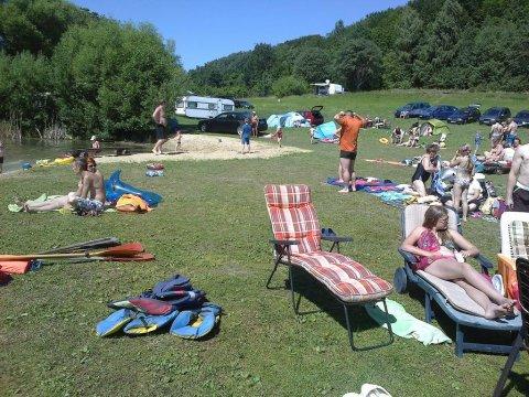 Prywatna Plaża i Camping
