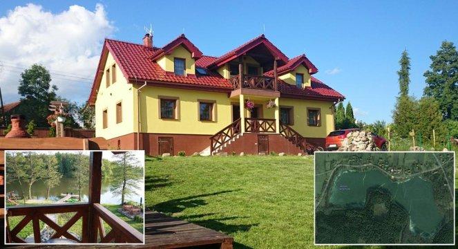 Mazurski Raj - Luksusowa Turystyka to dom - willa, lub dwa apartamenty 110m2 - Mazurski Raj - Luksusowa Turystyka | apartamenty nad jeziorem | prywatna plaża