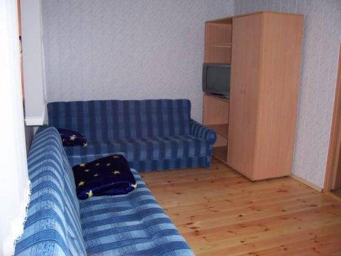 Pokój większy w domku.