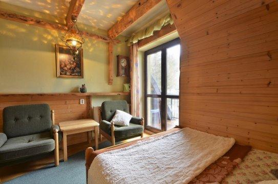 Pok. nr4, 2os. z łazienką, TV, balkon z widokiem na Giewont, WiFi