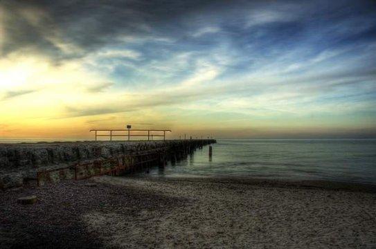 Plaża Zachodnia - III Molo