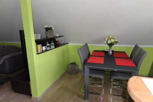 jadalnia - Apartament u Robsona na Mazurach