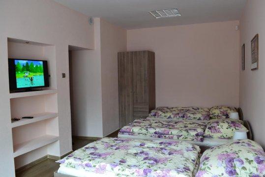 Pokój 3 osobowy na dolnym poziomie budynku