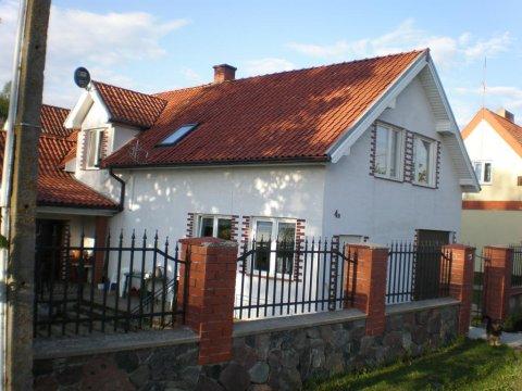 dom całoroczny - Dom nad jeziorem Łaśmiady | pokoje 3-osobowe