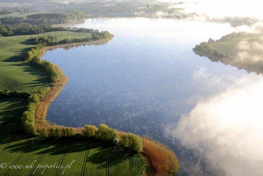 jezioro - Miła Dolina - noclegi na pograniczu Warmii i Mazur