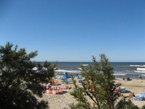 Plaża w Jastrzębiej Górze - Apartament nad morzem Jastrzębia Góra
