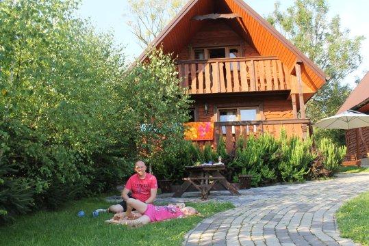 Całoroczny domek Stokrotka Łobozew koło Soliny