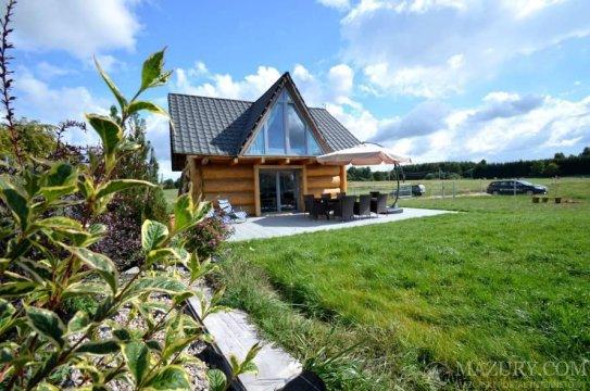 Dom z bala - WRZOSPA. Całoroczny dom na Mazurach z basem, sauną, ruską banią i jacuzzi