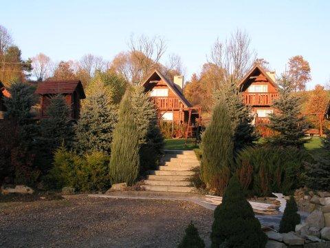 Całoroczne domki Stokrotka Jesień 2015