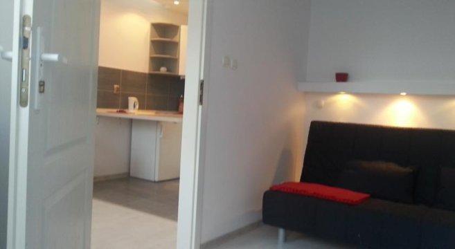 apartament dwupokojowy z aneksem i dużą łazienką bez balkonu