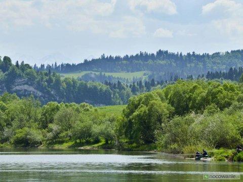 Spływ Dunajca 10km dalej
