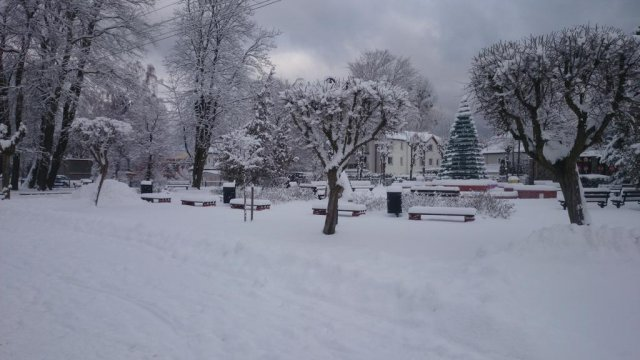 zimowa promenada