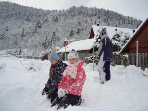 zimowe zabawy - OSADA TURYSTYCZNA AGATA