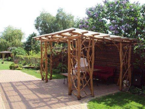 altanka - Domek+pokoje nad kanałem