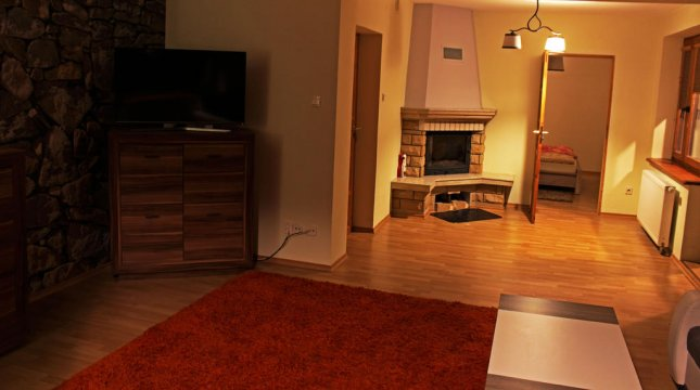 salon, apartament 1