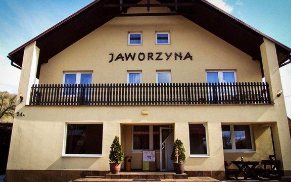 Pensjonat Jaworzyna wejście główne
