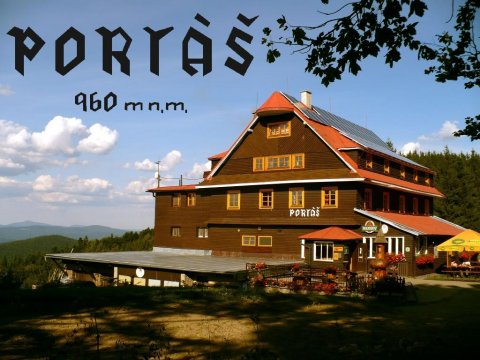 Portáš lato - Horský hotel Portáš