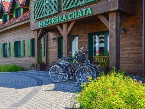Mazurska Chata - obiekt przyjazny pobytom z psami, połozony wśród zieleni, zdala od szumu ulic...
