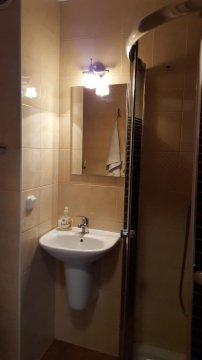 łazienka - Apartament Jacek  taras   300 metrów od plaży   blisko kortów tenisowych