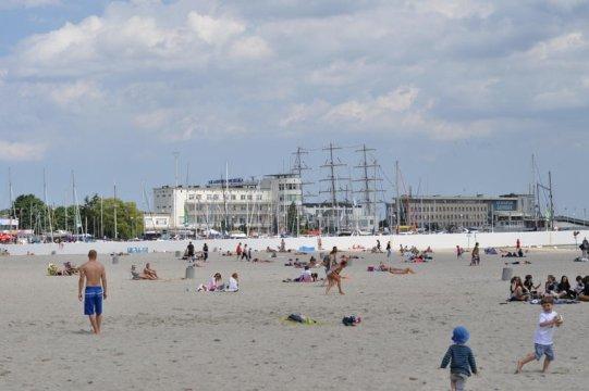 plaża -400 m od mieszkania - Gdynia apartament z tarasem przy plaży