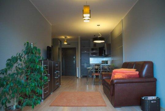 Salon z aneksem kuchennym - Apartament STRAND w kołobrzeskim porcie