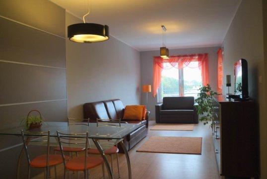 Salon - Apartament STRAND w kołobrzeskim porcie