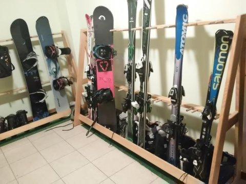 ogrzewana narciarnia