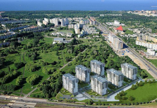 Widok na osiedle city park - Tricity Apartment