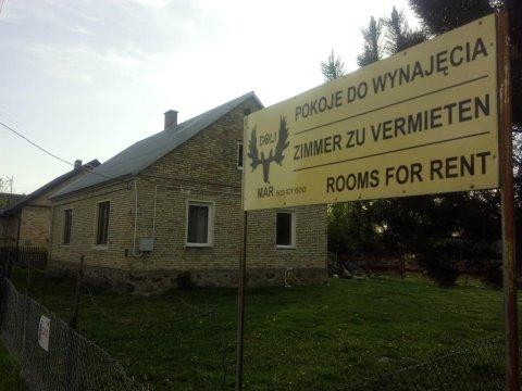 Domek KUBUŚ.  2.  - DoliMar-pokoje nad Biebrzą | kominek, kajaki, grill, 200 m do rzeki Biebrzy
