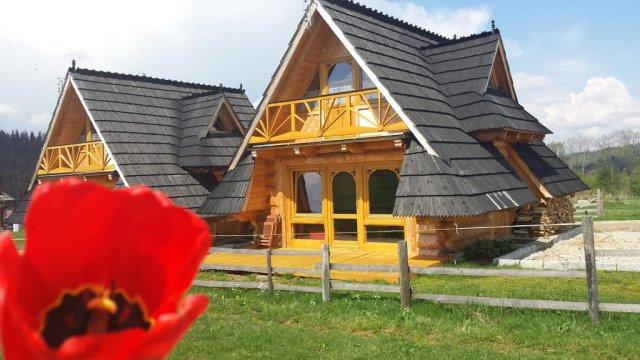 Luksusowe domki z widokiem na góry