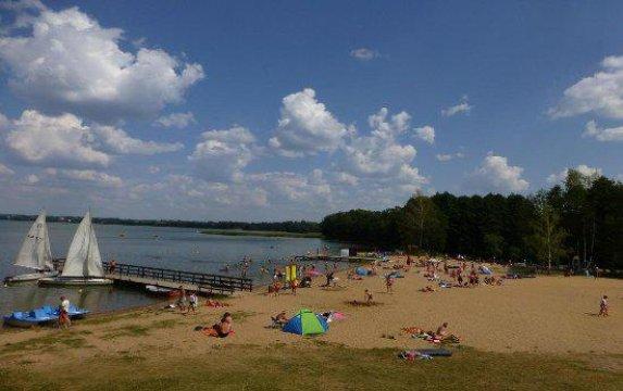 plaża gminna w Kruklankach