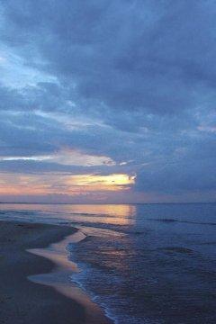 Zachód słońca - Stegna