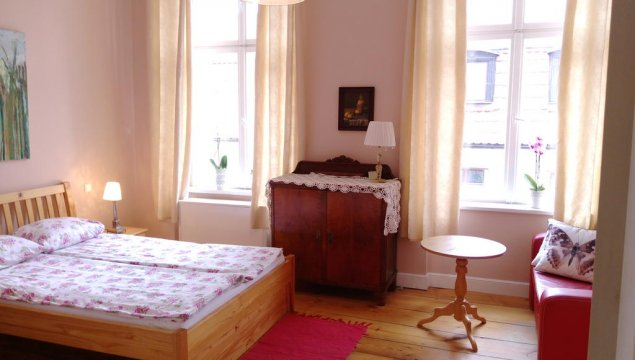 Apartament  2 , sypialnia