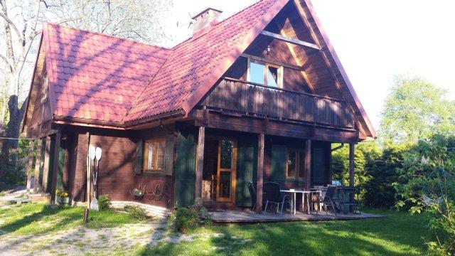 dom od strony jeziora - Mazurska Chata Czepiela