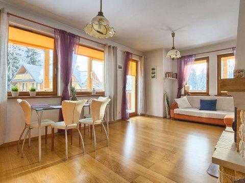 Apartament MADERA Polna. Balkony, pełne wyposażenie, garaż. Blisko centrum.