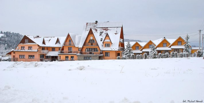 Zima w górach - Dom Wczasowy KINGA & DOMKI - domowe wyżywienie, rodziny i grupy