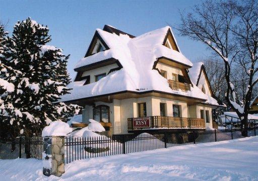 Willa Rysy zimą