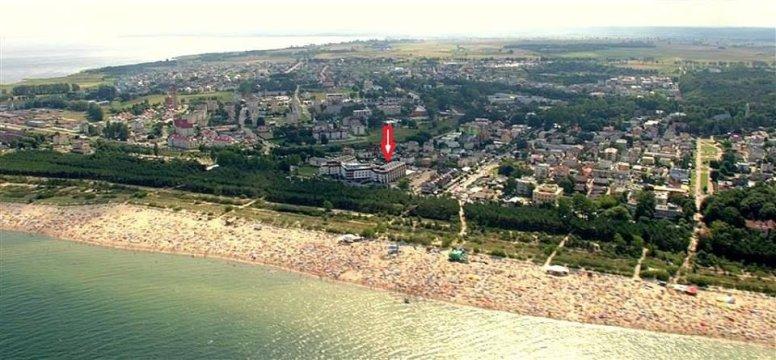 lokalizacja od strony morza - Apartament nad morzem | 50 m do plaży