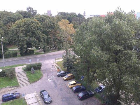 widok z okna Stare Miasto