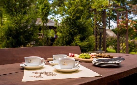 Śniadania w plenerze - Toreja ogród - Pensjonat Toreja