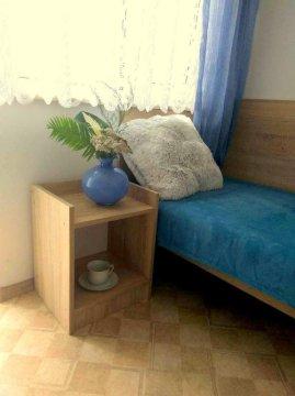 Łodzianka. Pokoje z łazienkami z niezależnym wejściem z ogrodu