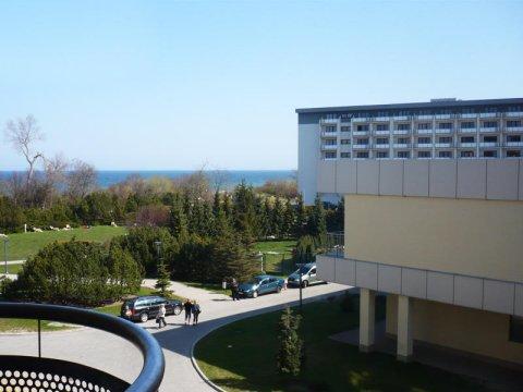Apartament z widokiem na morze przy Arka Medical SPA | 100 metrów do plaży