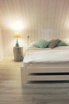 Domek Plażowy sypialnia
