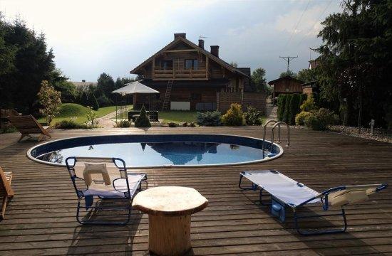 Willa Stasia | Altana i basen dla gości
