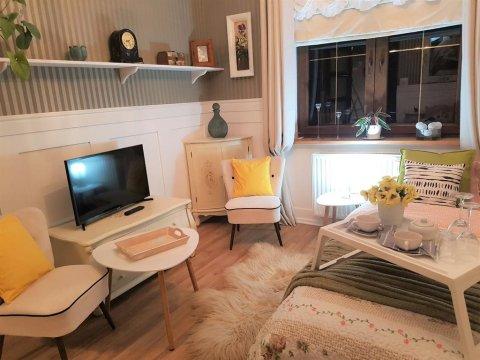 Retro room z łazienką - Pokoje Gościnne Magnolia Rooms