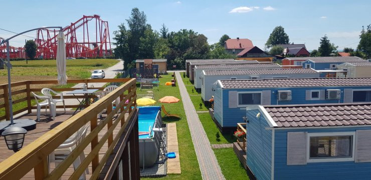 Widok na Holiday Park Zator