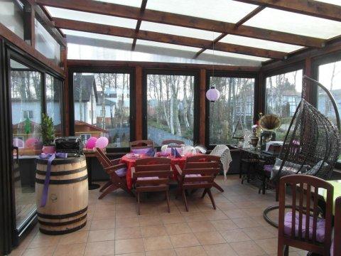 Ogród zimowy relaks dla wszystkich gości