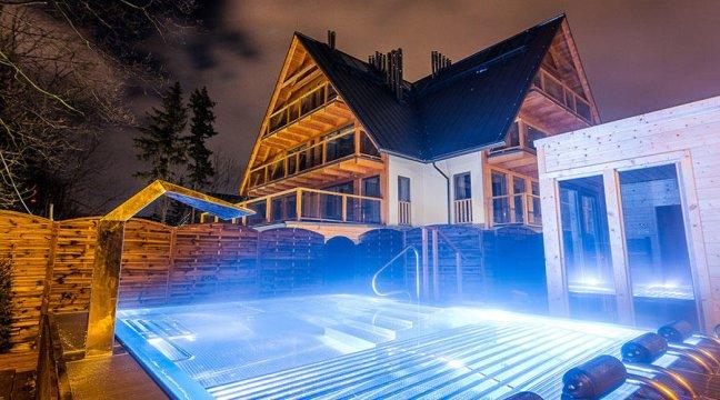 Apartamenty Pod Giewontem - Apartamenty GoralPoleca  - W Centrum - Widokowe - Sauna - Basen - Plac Zabaw