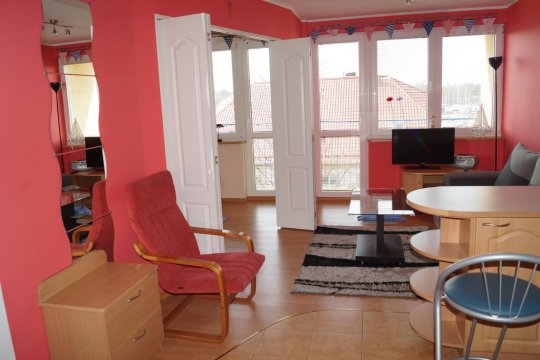 Apartament 36   150 m od morza   widok na deptak, morze, port