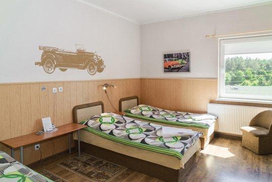 Pokój 3 osobowy - Willa Mewa Gdynia | przytulne pokoje z wyżywieniem | domowa kuchnia